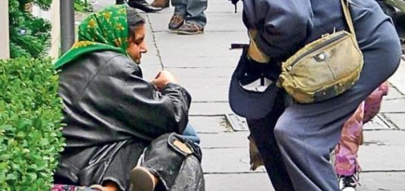 oamenii strazii din Romania su invadat Europa