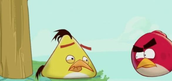 Os 'Angry Birds Toons' chegaram em 2013.