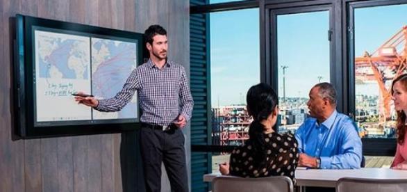 Surface Hub, dispositivo con pantalla multi-touch