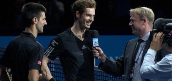 Will Murray or Djokovic be smiling after the semi?
