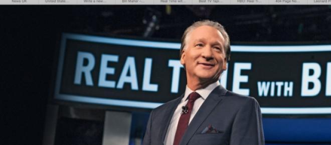 """Bill Maher is a very controversial comedian who has been around for more than ten years with his """"Real Time"""" show."""