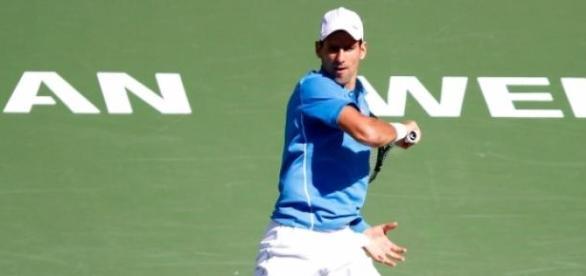 Djokovic a fost in zona in semifinala
