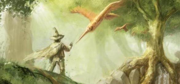 Fantasy-Art als Bestandteil der Fantasy-Kultur.