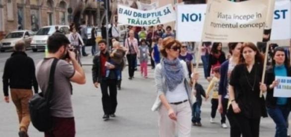 """""""Marsul pentru viata"""" de la Cluj"""