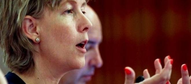 <p>Ministra das Finanças, Maria Luís Albuquerque (Fonte: website da <em>dinheirovivo</em>)<br /></p>