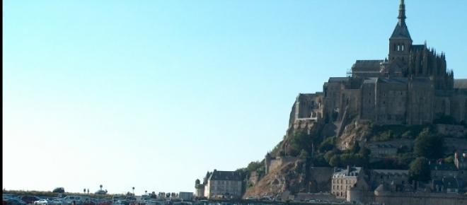 Naturspektakel auf Mont-Saint-Michel