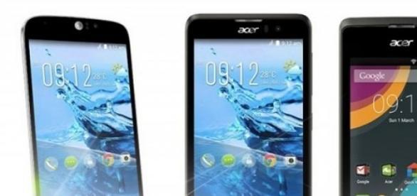Acer lanza sus 4 nuevos smartphones.