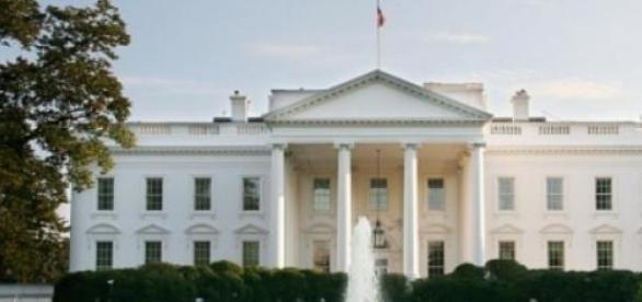 Casa Alba, resedinta presedintelui Statelor Unite.