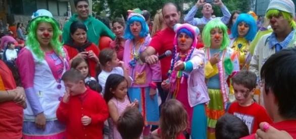Con color y alegría se celebró el evento