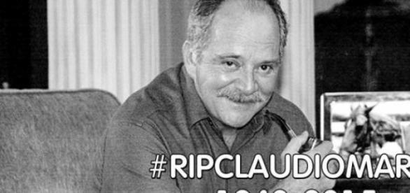 Luto na TV: morre aos 74 anos o ator Cláudio Marzo