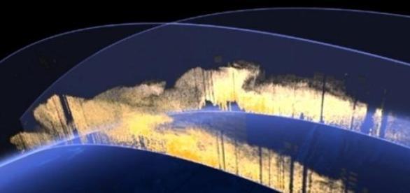 Satélite: poeira do Saara é levada pelo vento