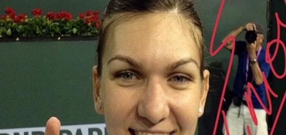 Simona Halep in finala Indian Wells