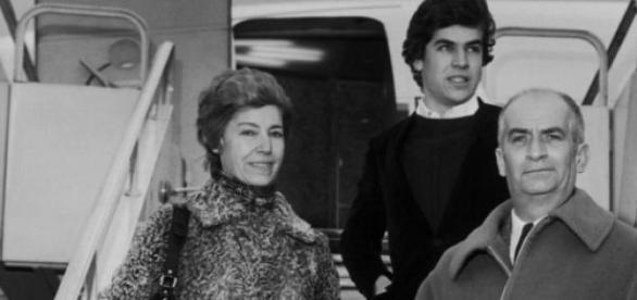 Jeanne, Olivier et Louis De Funès