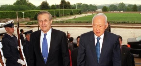 Lee Kuan Yew primer ministro de Singapur 30 años