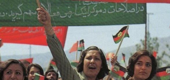 Mujeres Afganas cuando aún disponían de derechos