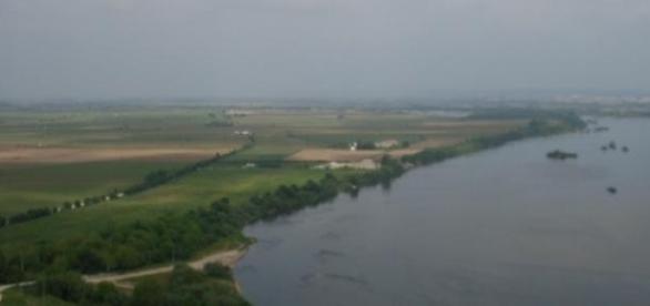 Rio Tejo, onde nas margens vivia o Povo Avieiro