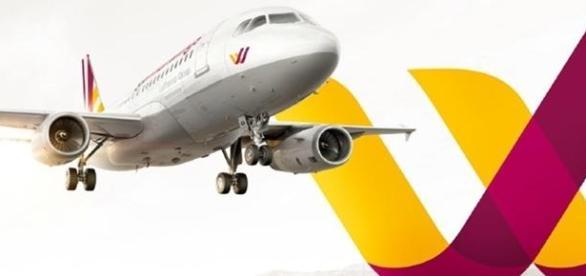 Germanwing aircraft and logo