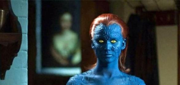 Jennifer Lawrence no papel de Mystique em X-Men