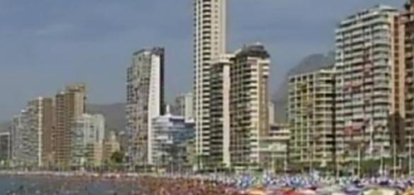 Las playas españolas reciben muchos turistas