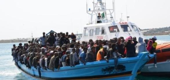 Les migrants arrivent du sud et de l'est.