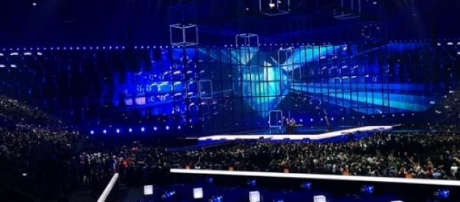Bild: Eurovision Song Contest-Bühne 2014.