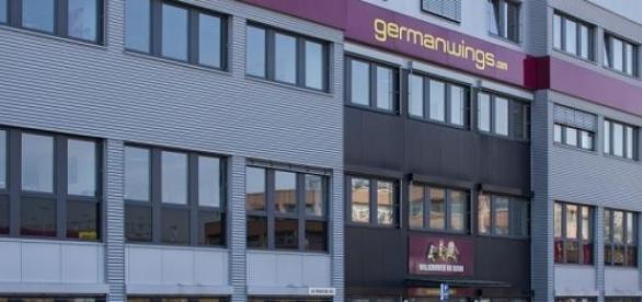 Germanwings im Kölner Stadtteil Porz-Grengel