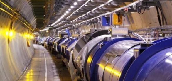 Imagen del Colisionador de Hadrones