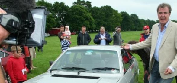 Jeremy Clarkson era o apresentador de 'Top Gear'.