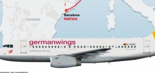 O que aconteceu no voo 4U9525 Germanwings