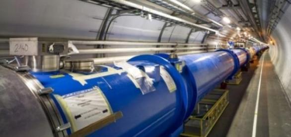 O sectiunea din marele LHC