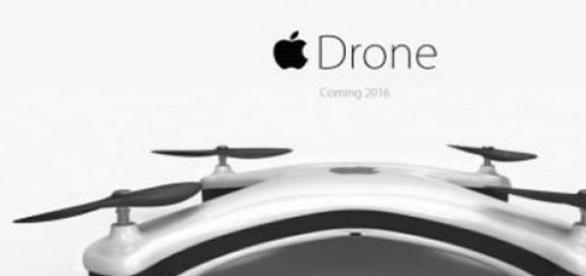 Voando junto com o Drone da empresa da maçã