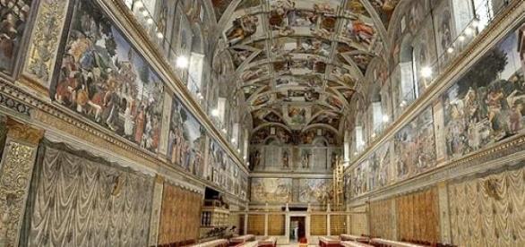 El Papa abrió la Capilla Sixtina para los mendigos