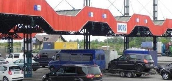 Incercare frauduloasa de trecere a frontierei Bors