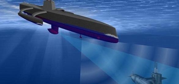 Nava robot a SUA pentru detectarea submarinelor
