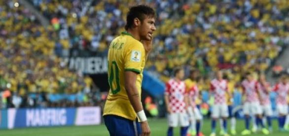 Neymar é o jogador do Brasil mais temido