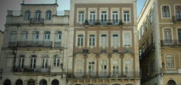Plaza 8 de Mayo en Coímbra (Portugal).