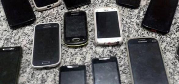 Polícia apreende celulares roubados em São Paulo