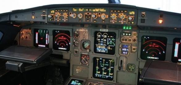 Tableau de bord d'un Airbus A320