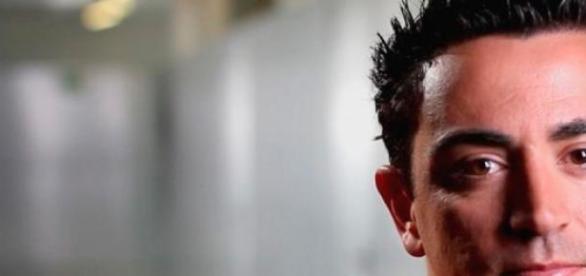Xavi Hernández, un gran profesional.