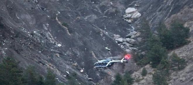 Miejsce katastrofy Boeinga A320 linii Germanwings we francuskich Alpach