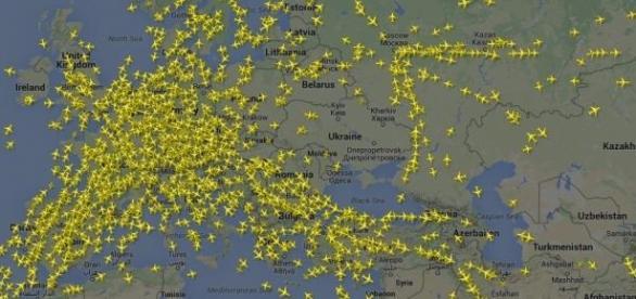 Milhares de aviões continuam a voar todos os dias