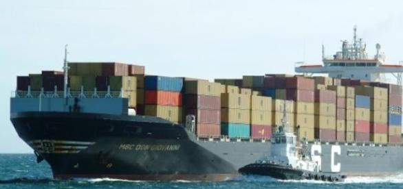 Transportul maritim international este afectat