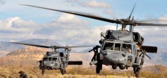 Forças Especiais dos EUA salvam pilotos sauditas.