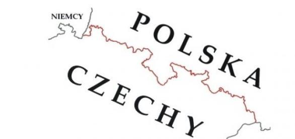 Granica polsko-czeska, źródło: wikimedia.org