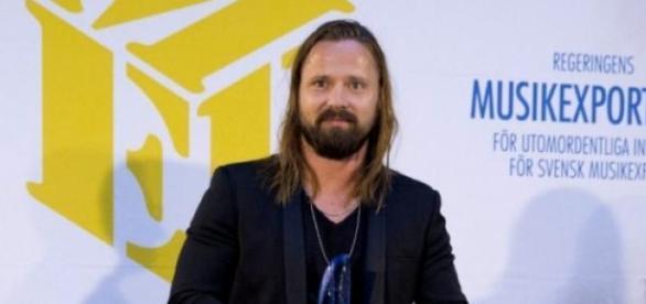 Max Martin im März 2015 - Musikpreisverleihung.