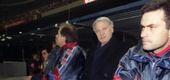 Mourinho entrou no Barça como adjunto de Robson