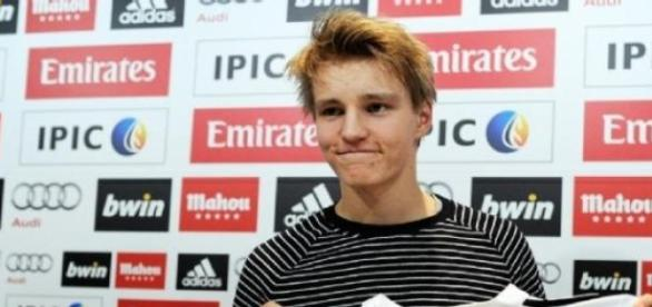 Odegaard é uma das esperanças do Real Madrid
