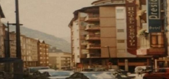 Avenida de Andorra la Vella (Foto del Autor).