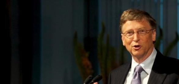 Bill Gates, co-fundador da Microsoft.