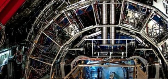 Detector CMS de partículas del LHC